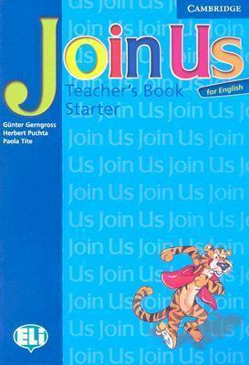 Книга для вчителя Join Us for English Starter Teacher's Book