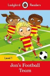 Jon's Football Team - Ladybird Readers Level 1 - фото обкладинки книги