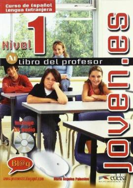 Joven.es 1 (A1). Libro del profesor + CD audio - фото книги