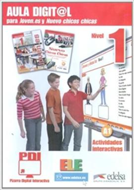 Joven.es 1 (A1). Pizarra Digital Interactiva DVD (програмне забезпечення) - фото книги