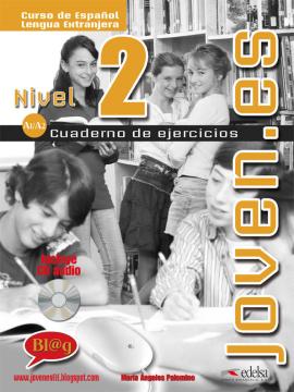 Joven.es 2 (A1-A2). Cuaderno de ejercicios + CD audio - фото книги