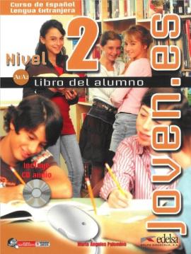 Joven.es 2 (A1-A2). Libro del alumno + CD audio - фото книги