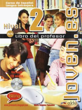 Joven.es 2 (A1-A2). Libro del profesor + CD audio - фото книги