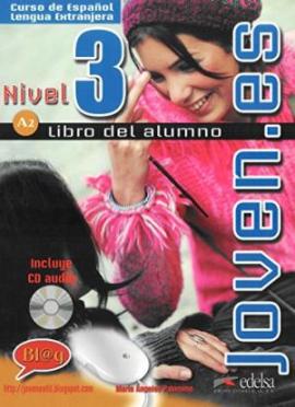Joven.es 3 (A2). Libro del alumno + CD audio - фото книги