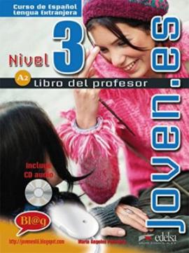 Joven.es 3 (A2). Libro del profesor + CD audio - фото книги