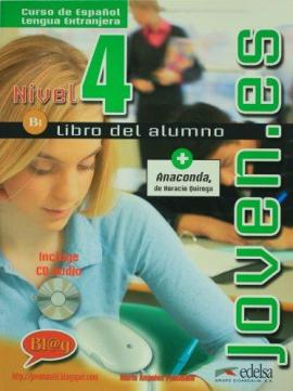 Joven.es 4 (B1). Libro del alumno + CD audio - фото книги
