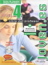 Joven.es 4 (B1). Libro del profesor + CD audio - фото обкладинки книги