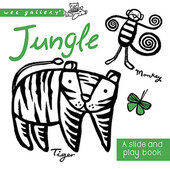 Jungle : A Slide and Play Book - фото обкладинки книги