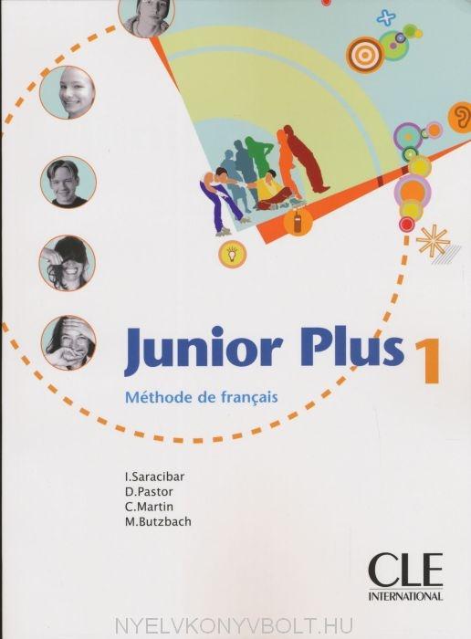 підручник Junior Plus 1 Livre De Leleve інмакулада сарасібар кармен мартін мішель буцбах