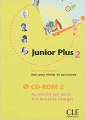 Junior Plus 2. CD-ROM (інтерактивний комп'ютерний диск) - фото обкладинки книги