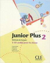 Junior Plus 2. CDs Collectifs (набір із 3 аудіодисків) - фото обкладинки книги