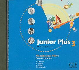Junior Plus 3. CD Individuel - фото книги