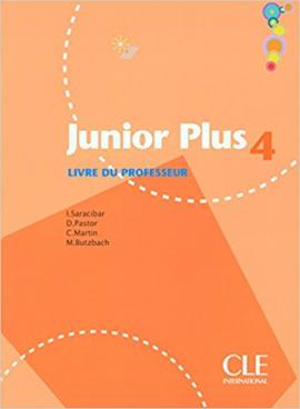 Junior Plus 4. Guide pedagogique (Livre Du Professeur) - фото книги