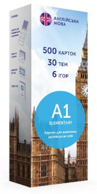 Картки для вивчення англійської мови English Student Elementary А1 New - фото книги