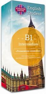 Книга Картки для вивчення англійської мови English Student Intermediate B1