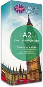 Картки для вивчення англійської мови English Student Pre-Intermediate A2 - фото книги