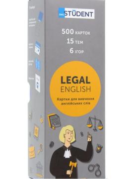 Карти для вивчення англійської Legal - фото книги