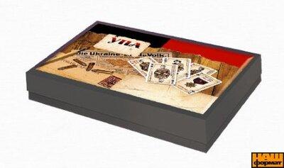 """Карти гральні """"Бойові карти УПА"""" подарункові (2 колоди)"""