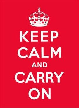 Keep Calm and Carry On: Good Advice for Hard Times - фото книги
