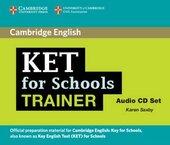 KET for Schools Trainer Audio CDs (2) - фото обкладинки книги
