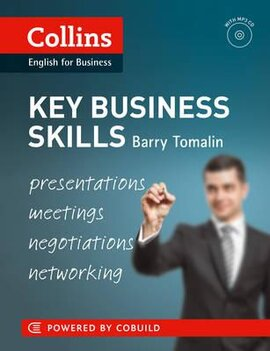 Key Business Skills book with CD (presentations, meetings, negotiations and networking): B1-C1 - фото книги