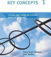 Key Concepts 1 : Listening, Note Taking, and Speaking Across the Disciplines - фото обкладинки книги