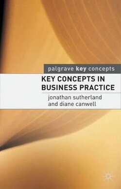 Key Concepts in Business Practice - фото книги