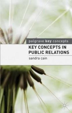 Key Concepts in Public Relations - фото книги