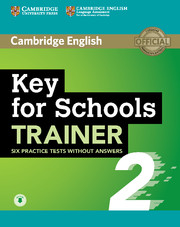 Key for Schools Trainer 2 Six Practice Tests without Answers with Audio - фото книги
