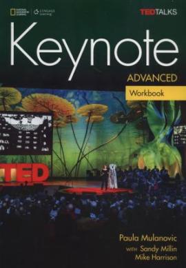 Keynote Advanced Workbook & Workbook Audio CD - фото книги