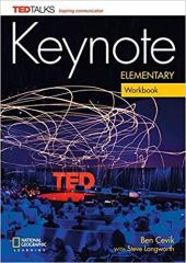 Keynote Elementary Workbook + Audio CD - фото обкладинки книги