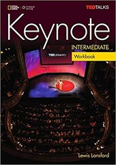 Keynote Intermediate Workbook & Workbook Audio CD - фото обкладинки книги