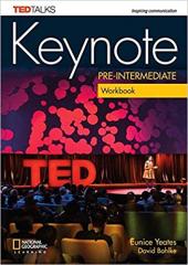 Keynote Pre-intermediate Workbook & Workbook Audio CD - фото обкладинки книги
