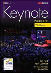 Keynote Proficient Workbook & Workbook Audio CD - фото обкладинки книги