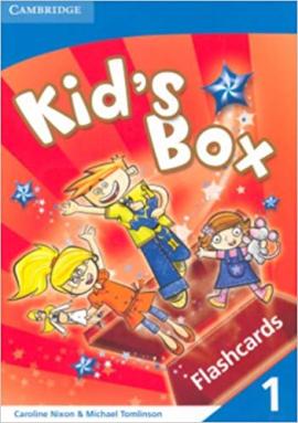 Kid's Box 1 Flashcards (Pack of 96) - фото книги