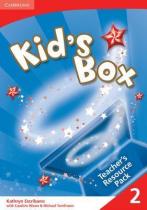 Книга для вчителя Kid's Box 2 Teacher's Resource Pack with Audio CD