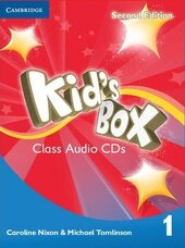 Kid's Box 2nd Edition 1. Class Audio CDs - фото обкладинки книги