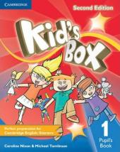 Kid's Box 2nd Edition 1. Pupil's Book - фото обкладинки книги