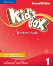 Kid's Box 2nd Edition 1. Teacher's Book - фото обкладинки книги
