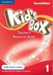 Kid's Box 2nd Edition 1. Teacher's Resource Book with Online Audio - фото обкладинки книги