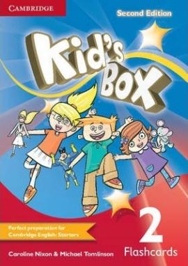 Kid's Box 2nd Edition 2. Flashcards (103 картки) - фото книги