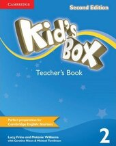 Kid's Box 2nd Edition 2. Teacher's Book - фото обкладинки книги
