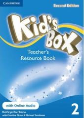 Kid's Box 2nd Edition 2. Teacher's Resource Book with Online Audio - фото обкладинки книги
