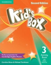 Kid's Box 2nd Edition 3. Activity Book with Online Resources - фото обкладинки книги