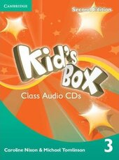Kid's Box 2nd Edition 3. Class Audio CDs - фото обкладинки книги