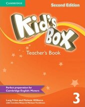 Kid's Box 2nd Edition 3. Teacher's Book - фото обкладинки книги