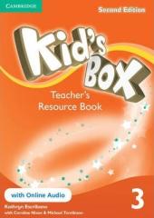 Kid's Box 2nd Edition 3. Teacher's Resource Book with Online Audio - фото обкладинки книги