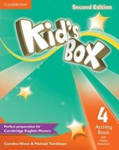 Kid's Box 2nd Edition 4. Activity Book with Online Resources - фото обкладинки книги