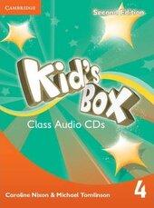 Kid's Box 2nd Edition 4. Class Audio CDs - фото обкладинки книги