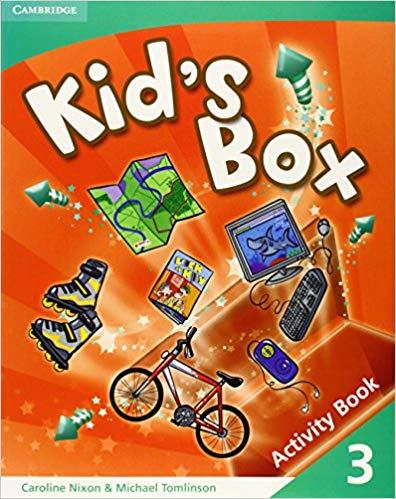 Підручник Kid's Box 3 Activity Book